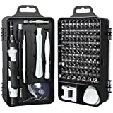 Precision Screwdriver Set, E.Durable 115 in 1 Megnetic Screwdriver Bit Set with Case Professional Screwdriver Repair Tool Kit for iPhone Xs/XS Max/XR/X/8/7/6/Plus,Cellphone/Computer/Tablet/PC