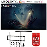 LG OLED B7A Series 4K HDR Smart TV 55 or 65 inch, Essential or Executive Bundle (OLED65B7A, Essential Bundle) (Color: Essential Bundle, Tamaño: OLED65B7A)