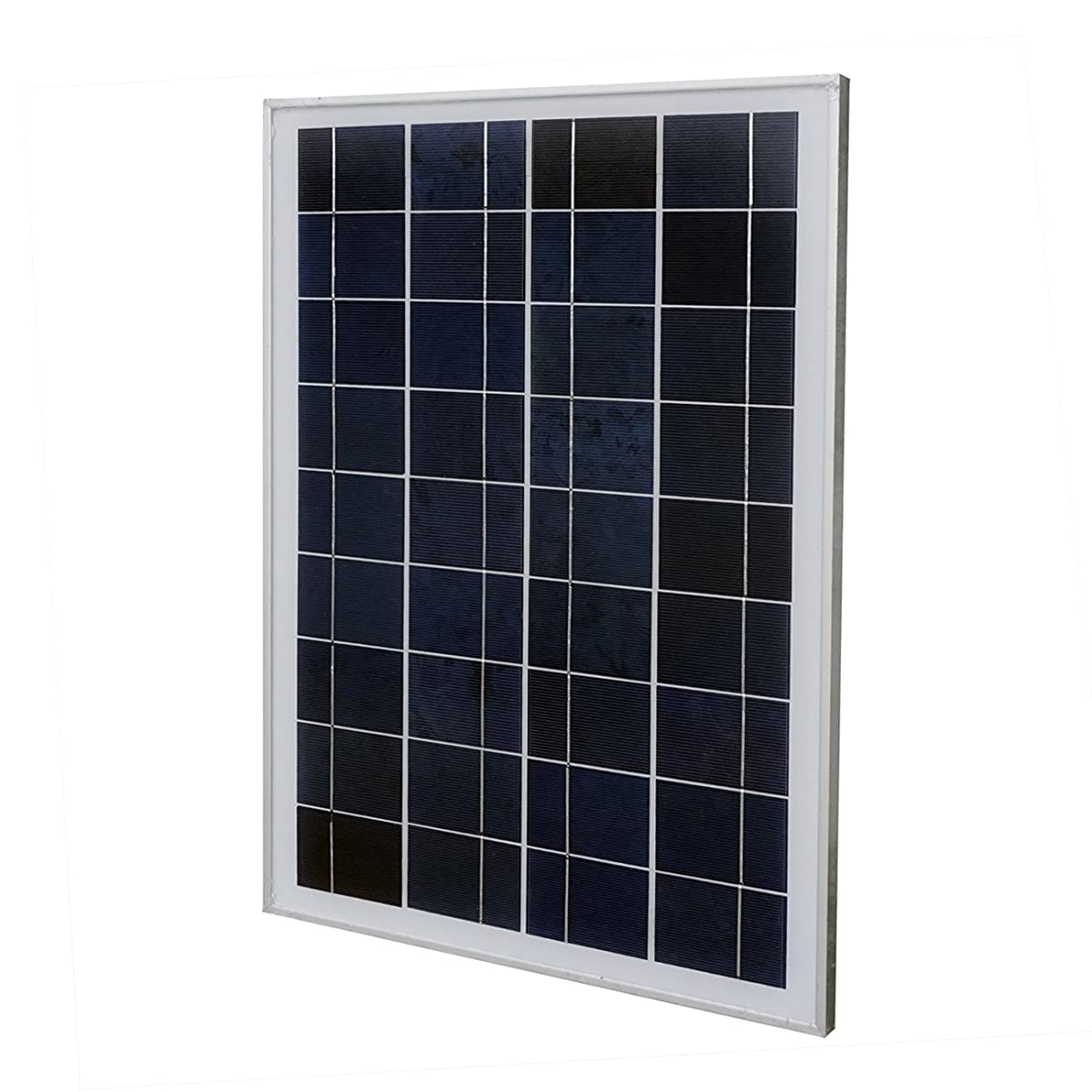 20 Watt 12 Volt Polycrystalline Solar Panel Module Off Grid Charging RV Boat
