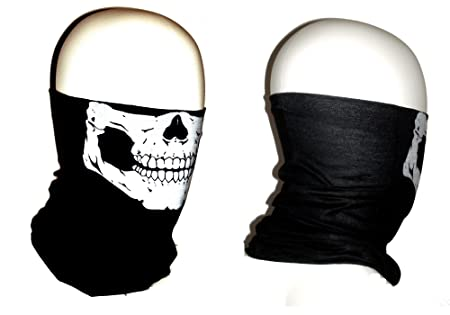 Winter Face Mask Skull Skull Tube Face Mask