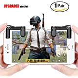 Mobile Game Controller(2018 Newest Version), GPJOY Sensitive Shoot and Aim Buttons L1R1 for PUBG/Knives Out/Rules of Survival, Mobile Game Joystick, Cell Phone Game Controller for Android IOS,1 pair