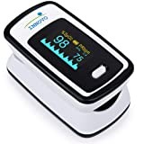 Innovo Deluxe Fingertip Pulse Oximeter with Plethysmograph and Perfusion Index (Color: Deluxe Ivorywhite)