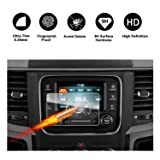 2013-2018 Dodge Ram 1500 2500 3500 Uconnect Touch Screen Car Display Navigation Screen Protector, RUIYA HD Clear Tempered Glass Car in-Dash Screen Protective Film (5-Inch) (Color: 5-Inch, Tamaño: 5-Inch)