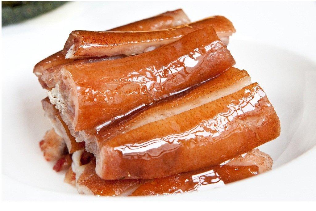 鹵猪尾 味付け豚の尾 豚テール 五香味 無添加 冷蔵 2本入