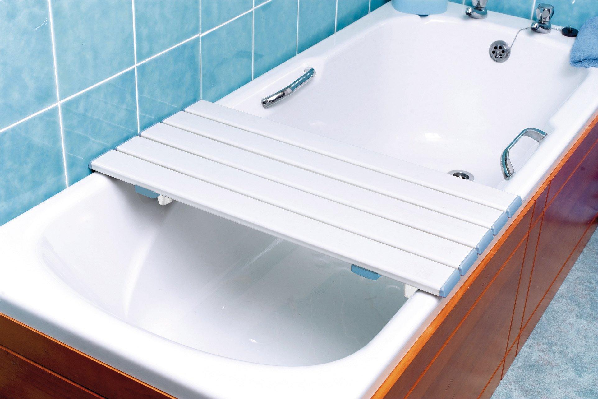 Mensola per vasca da bagno boiserie in ceramica per bagno - Supporto per vasca da bagno ...