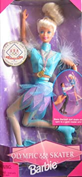 barbie patinage olympique nagano 1998