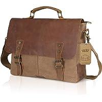 Lifewit Men Genuine Leather Vintage 15.6
