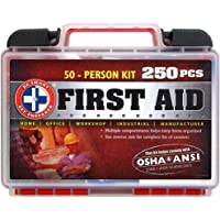 Be Smart Get Prepared 250 Piece First Aid Kit
