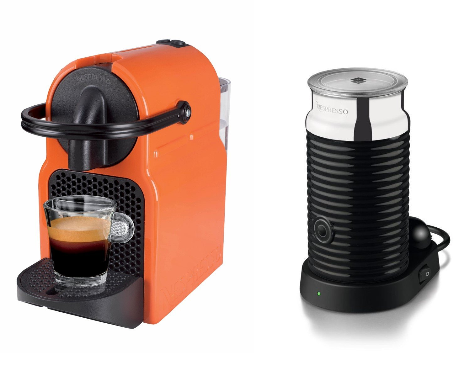 magimix nespresso inissia summer sun and aeroccino coffee. Black Bedroom Furniture Sets. Home Design Ideas