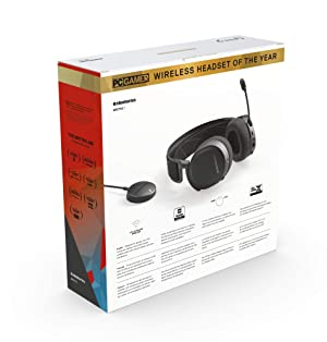 SteelSeries Arctis 7 61505 (2019 Edition) Lossless Wireless Gaming Headset with DTS H, Renewed (Color: Black)