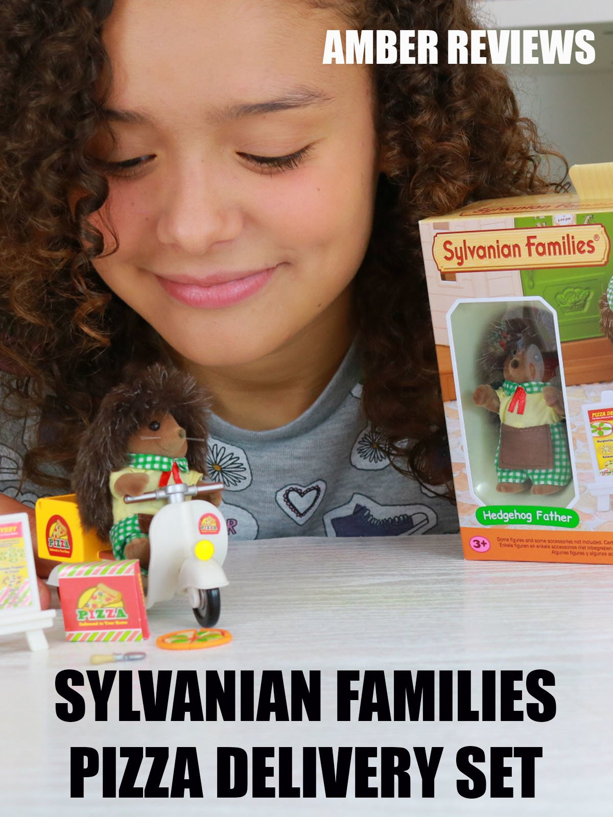 Amber Reviews Sylvanian Families Pizza Delivery Set