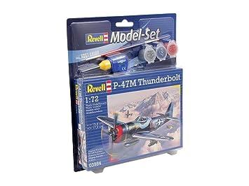 Revell - 63984 - Maquette - Model Set P-47M Thunderbolt