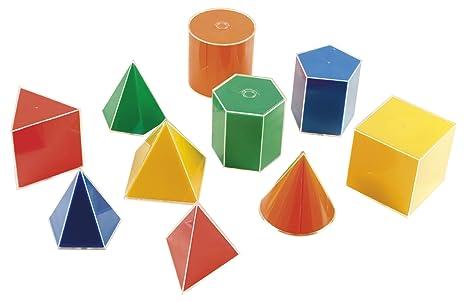 Eduplay 12012110x 10x 10cm formes géométriques avec incrustation de jeu
