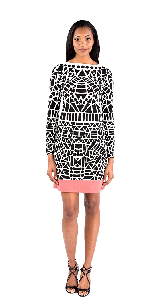 Nicole Miller Yin Yang Equilateral Dress