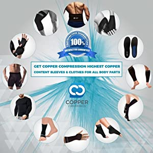 Copper Compression Bunion Corrector Toe Splints. Bunion Relief Brace and Toe Straightener. Big Toe, Hammer Toes Splint for Men Women. 1 Pair. Bunions Support, Hallux Valgus Treatment, Feet (One Size) (Tamaño: One Size)