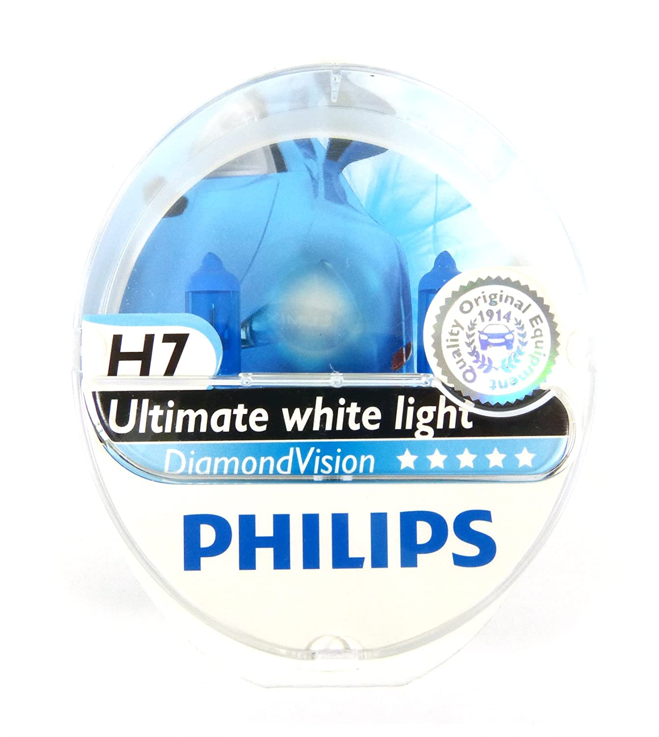 Philips - Diamond Vision H7 Halogen HID Bulbs (Pair) at Sears.com