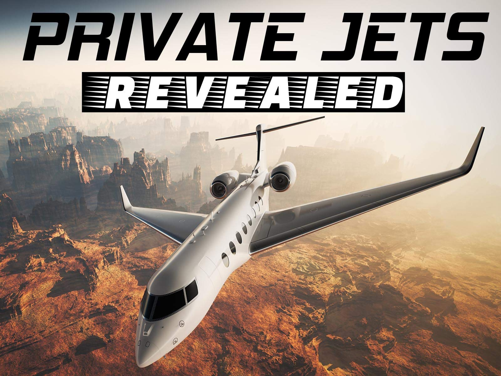 Private Jets Revealed on Amazon Prime Video UK