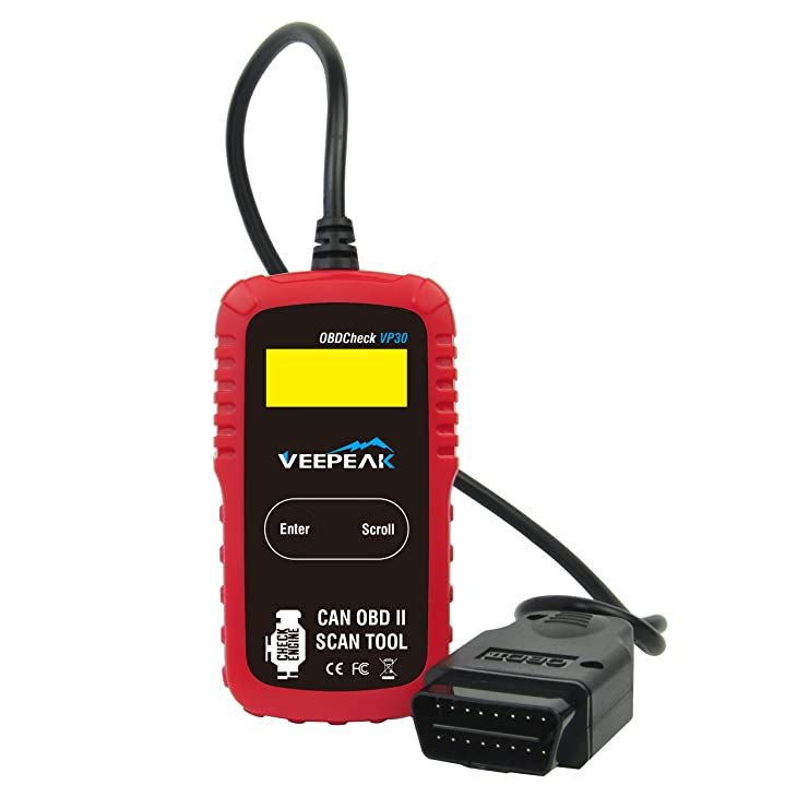 Veepeak OBD2 Scanner Automotive Diagnostic Scan Tool Code Reader for Check Engine Light, Read & Clear Trouble Codes for OBD II Compliant Vehicles
