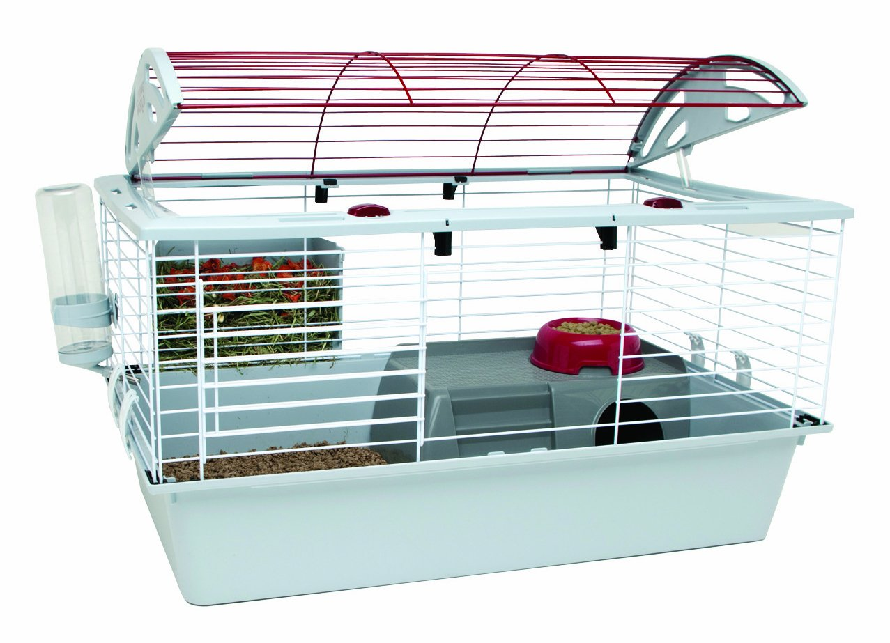 guinea pig habitat living world deluxe small animal rabbit. Black Bedroom Furniture Sets. Home Design Ideas