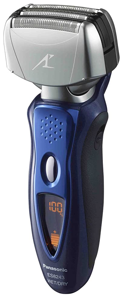 Panasonic ES8243A Men's 4-Blade (Arc 4) Wet/Dry Rechargeable Electric Shaver with Nanotech Blades