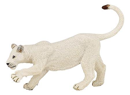 Papo - 50136 - Figurine - Jeune Lionne Blanche