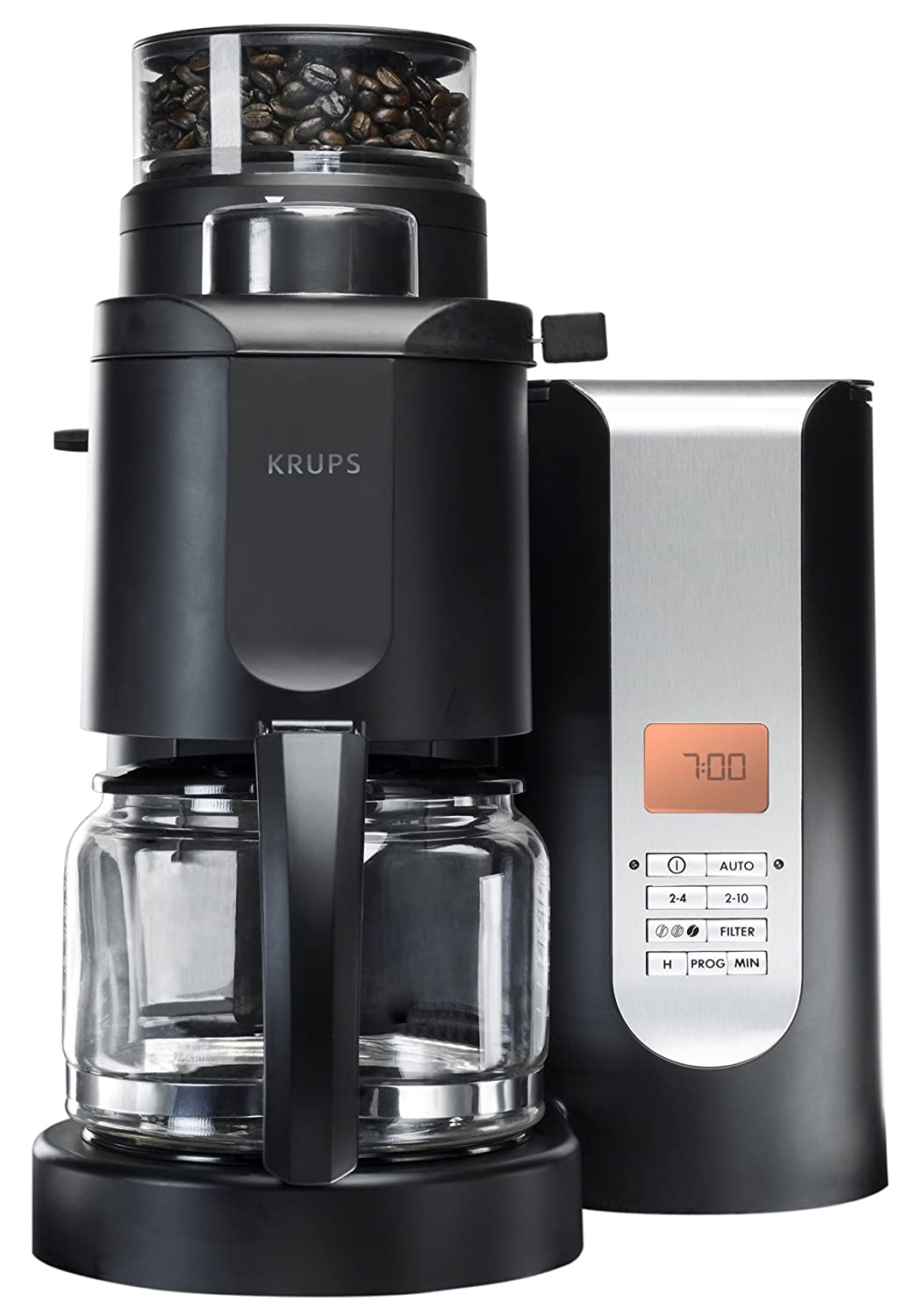 KRUPS KM700552 10-Cup Grind and Brew Coffee Maker