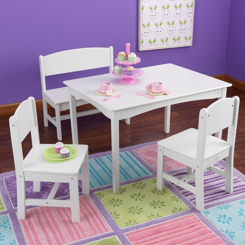 Nantucket Table with Bench and chairs