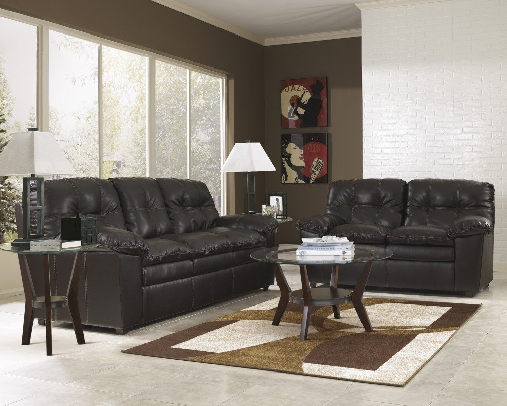 Ashley Furniture Industries - Jordon Stationary Set - (Includes: 1 Sofa & 1 loveseat)