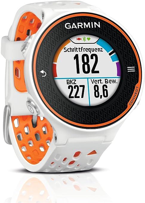 Garmin Forerunner 620 Montre de Running avec GPS Intégré Orange/Blanc