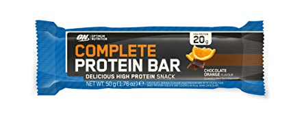 Optimum Nutrition Complete Protein Bar Snack Riegel-Chocolate Orange