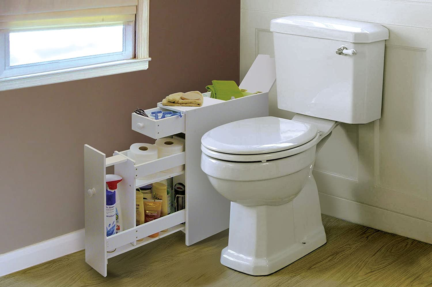 Meuble toilette gain de place - Meuble tv gain de place ...