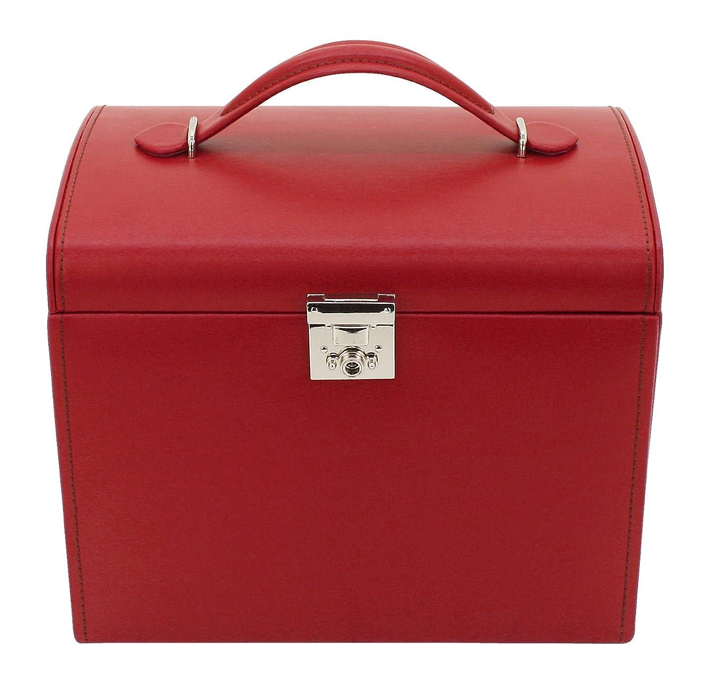 Friedrich|23 Damen-Schmuckkasten Cordoba Leder rot – 26391-4 günstig bestellen