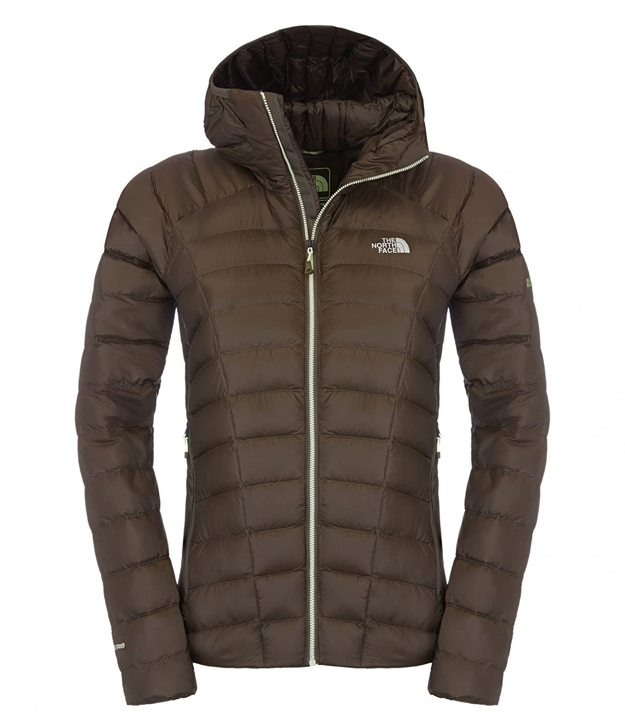 The North Face W Quince Pro Hooded Jacket black ink green günstig online kaufen