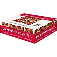 Goodnessknows Cranberry, Almond and Dark Chocolate Snack Squares (12-Count Box)