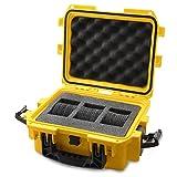 Invicta IG0097-SM1S-Y 3 Slot Yellow Plastic Watch Box Case (Color: Yellow)
