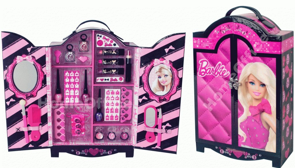 Barbie Makeup Box Amazon Com Barbie Makeup