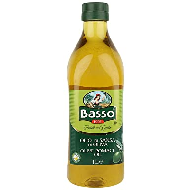 Basso Olive Oil Pomace, 1 Liter