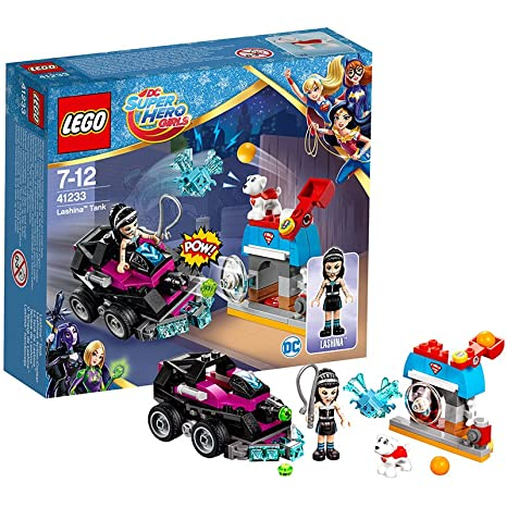 LEGO - 41233 - Dc Super Hero Girls - Jeu de Construction - Le tank de Lashina