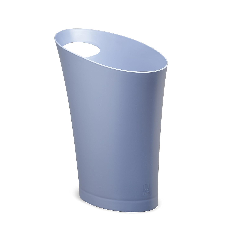 Umbra 082610-322 Cans und Bins Skinny Mülleimer mit Griff, Abfalleimer, Müllsammler, Papierkorb, Kunststoff, lavendel kaufen