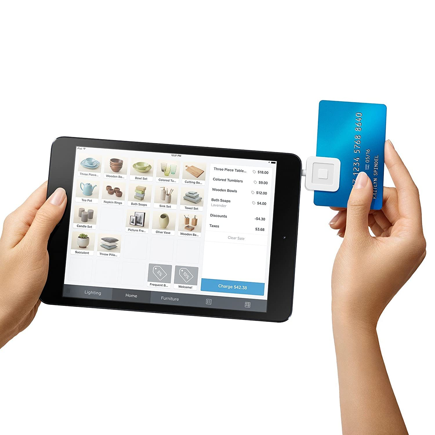 Square Reader For IPhone, IPad And Android