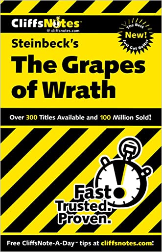 CliffsNotes on Steinbeck's The Grapes of Wrath (Cliffsnotes Literature Guides) written by Kelly M Vlcek