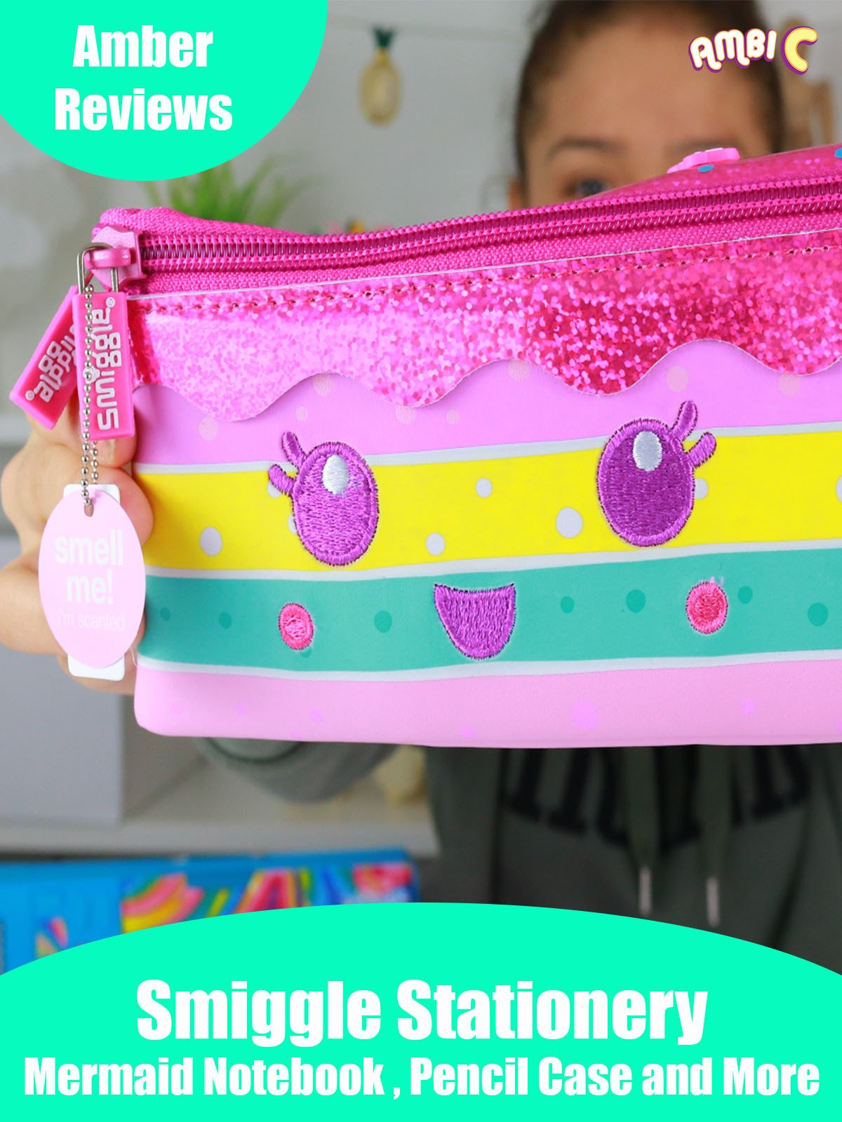 Amber Reviews Smiggle Stationery Mermaid Notebook Pencil Case and More