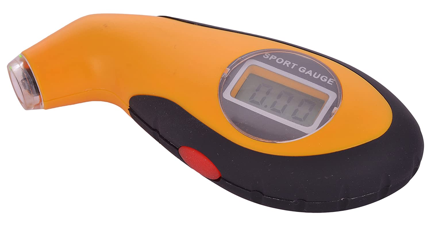 Amazon: Romic 100 PSI Digital Tyre Gauge with Lighted Tip @ Rs.381/- (77% OFF)
