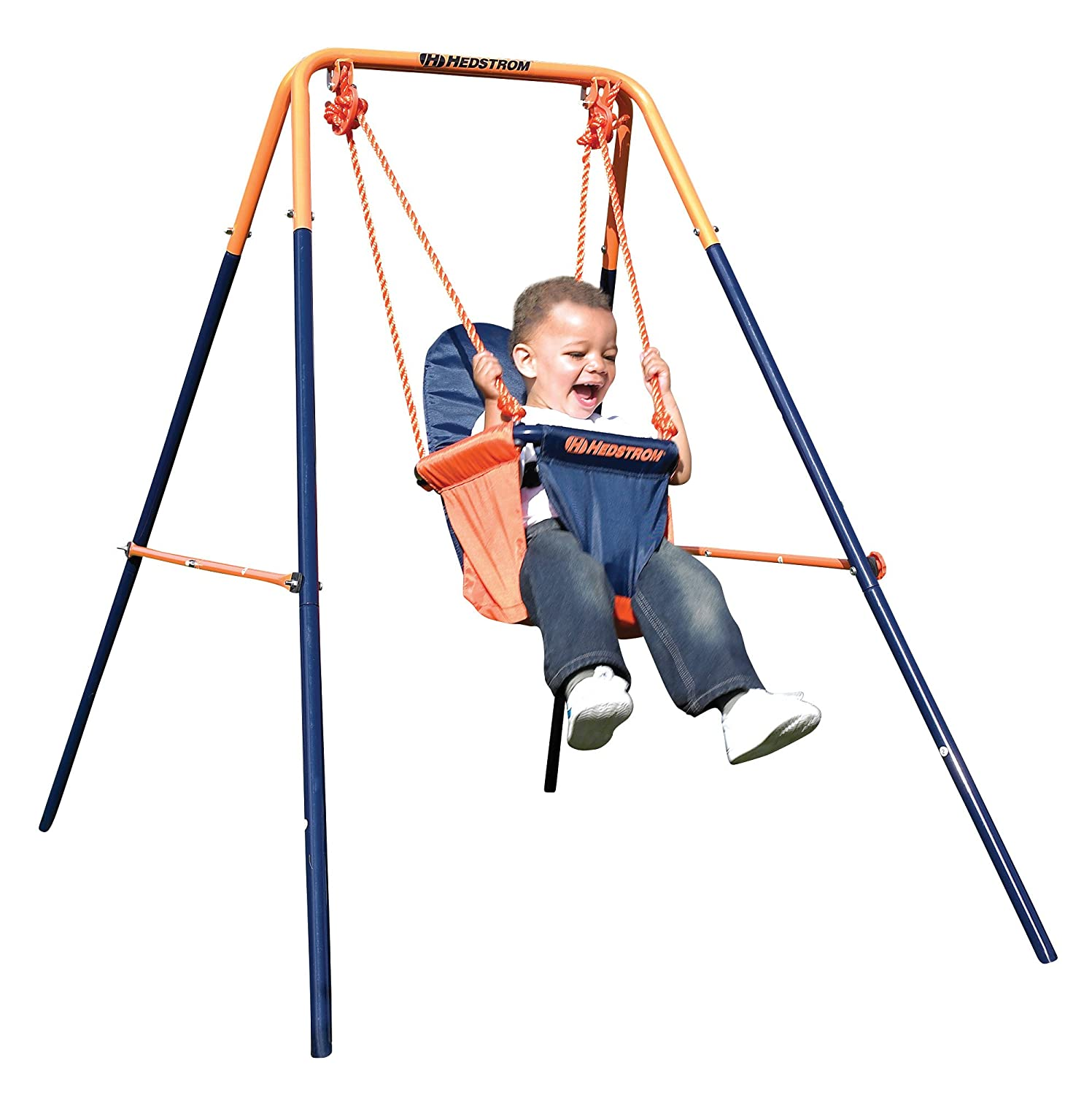 Kids Garden Swing Set Toddler Baby Childrens Outdoor Play