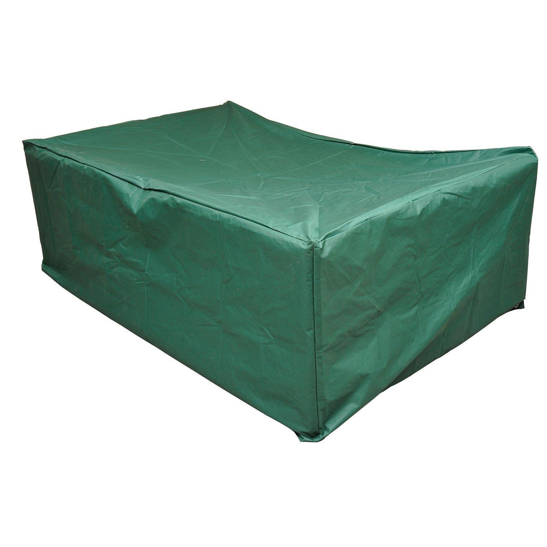 Outsunny Schutzhülle Abdeckung Abdeckhaube für Gartenmöbel 210 x 140 x 80 cm, grün