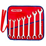Proto - 7Piece Combination Flare Nut Wrench Set - 12 Pt. (J3700AT)