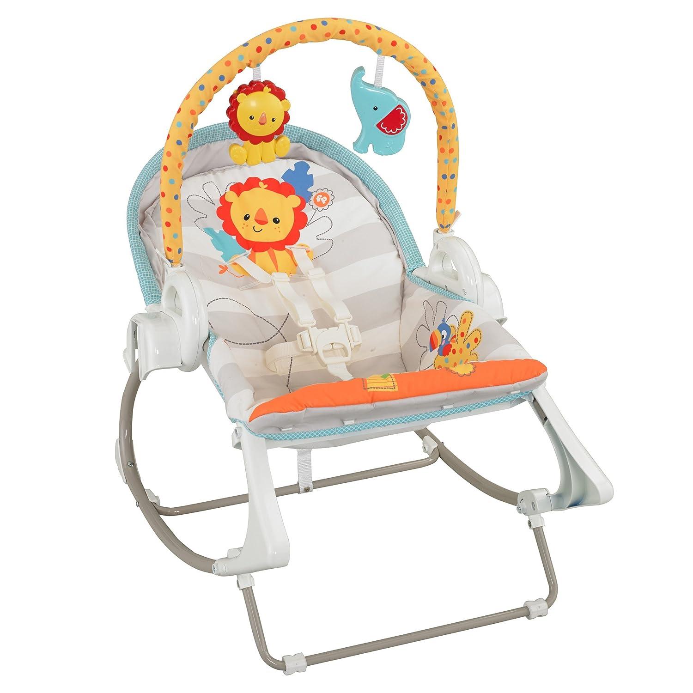 Fisher Price 3 in 1 Baby Infant Swing n Rocker Chair Cradle