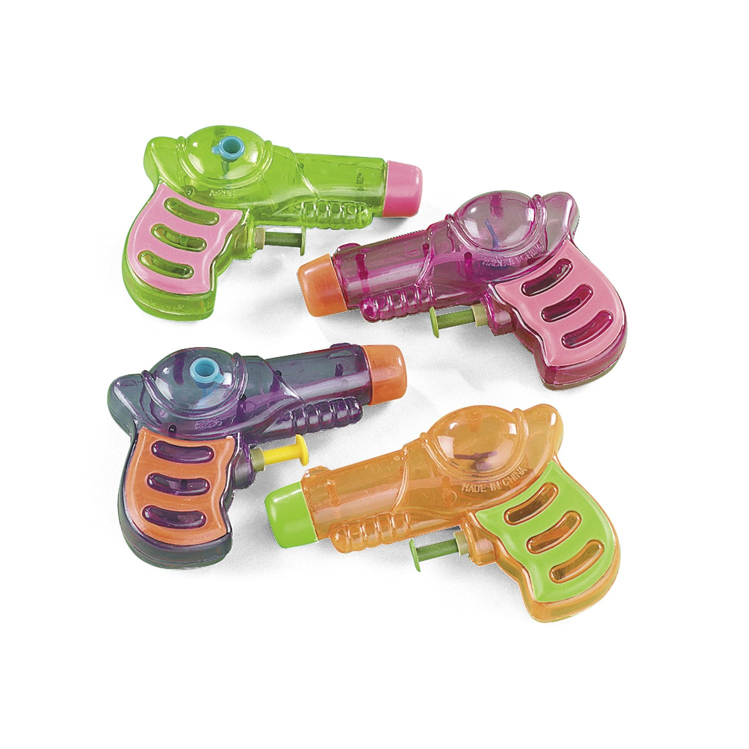 Neon Grip Squirt Guns