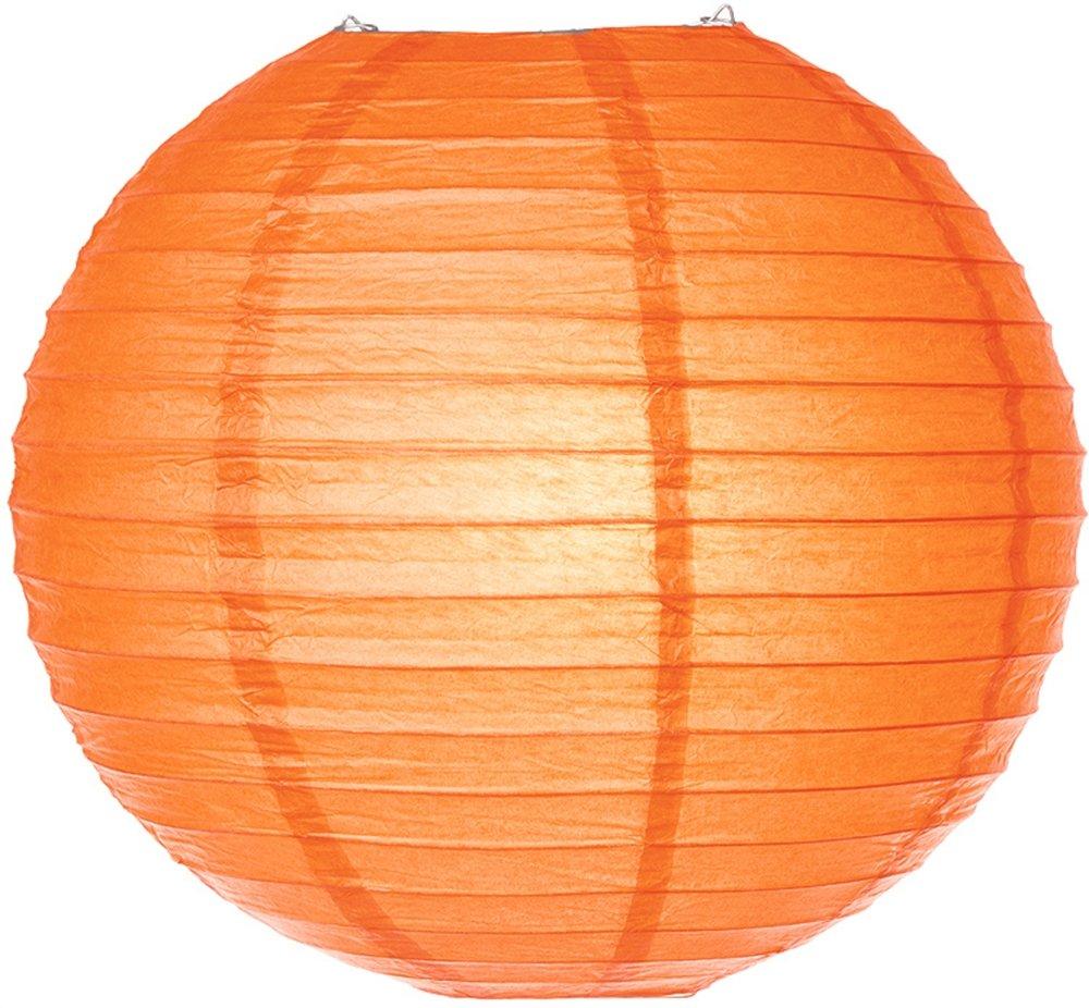 Luna Bazaar 8 Inch Paper Lanterns (Multi-colored, 8 Pack) - Colors as Shown