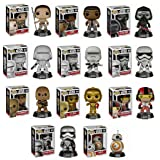 Funko POP! Star Wars Mystery Pack - 6 Random Stylized Vinyl Bobble-Head Set NEW